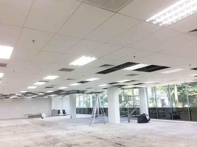 office reinstatement contractor singapore